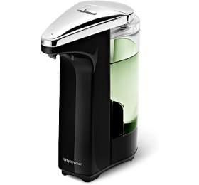 Bezdotykový dávkovač mýdla Simplehuman - 237 ml, černý - Simplehuman