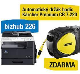 Konica Minolta Bizhub 226 set1 (DF-625+AD-509+MK-749+NC-504) + Kärcher Premium CR 7.220 Automatický držák hadic (A8A50211) - Minolta