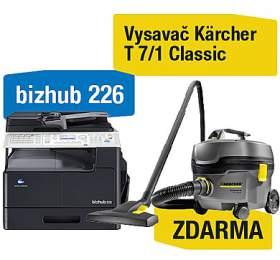 Konica Minolta Bizhub 226 set1 (DF-625+AD-509+MK-749+NC-504) + Kärcher vysavač T 7/1 Classic (A8A50211) - Minolta