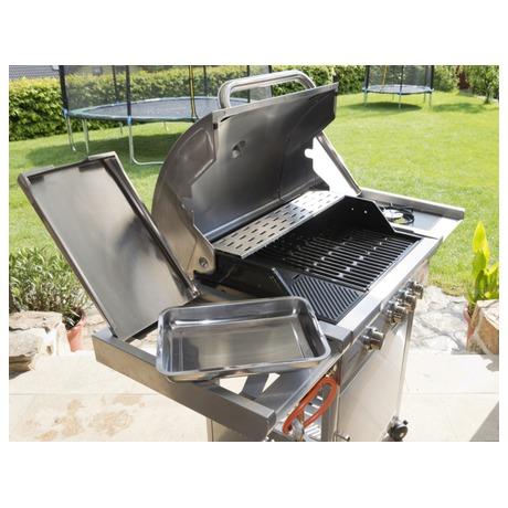 Gril zahradní plynový G21 California BBQ Premium Line, 4 hořáky - G21 GDJ6390305 (foto 9)
