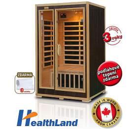Sauna HealthLand Economical 2022 Carbon - HealthLand