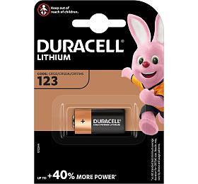 Baterie Duracell DL123 (CR123, CR123A, CR17345), 3V - DURACELL