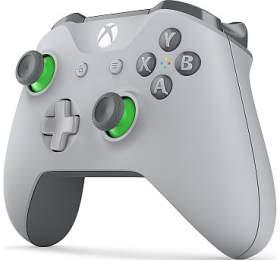 XBOX ONE - Bezdrátový ovladač Xbox One, šedozelený (WL3-00061) - Microsoft