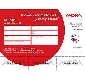 Mora BONUS – 5let bezplatný servis - Mora