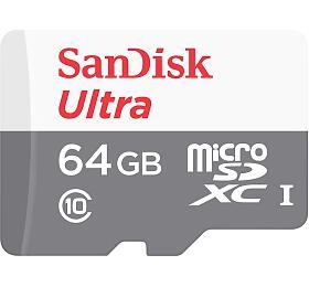 Paměťová karta SanDisk microSDXC 64GB (SDSQUNS-064G-GN3MN) - Sandisk
