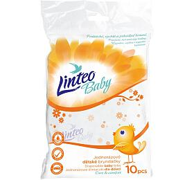 Jednorázové bryndáčky Linteo Baby 10 ks - Linteo