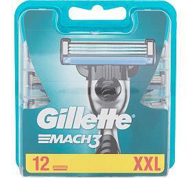 Náhradní břit Gillette Mach3, 12 ml - Gillette