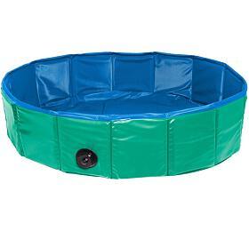 Skládací bazén pro psy Karlie zeleno/modrý 80x20cm - Karlie