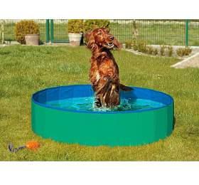 Karlie-Flamingo Skládací bazén pro psy zeleno/modrý 120x30cm - Karlie-Flamingo
