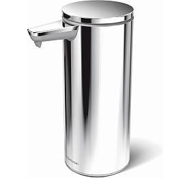 Bezdotykový dávkovač mýdla Simplehuman – 266 ml, leštěná nerez ocel, dobíjecí ST1044 - Simplehuman