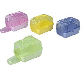 Transportní box pro hlodavce Touring Homey XXS, mix. barev, 14,5 x 10,5 x 10,5 cm - Duvo+