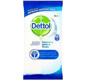 Antibakteriální ubrousky Dettol 36 ks (na povrchy) - DETTOL