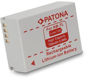 Baterie pro fotoaparát PATONA Canon NB-7L 750mAh (PT1072) - PATONA