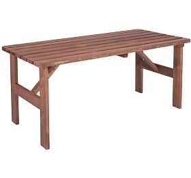 MIRIAM zahradní stůl dřevěný - 150 cm Rojaplast - Rojaplast