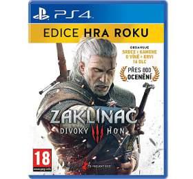 PS4 - Zaklínač 3: Divoký hon - Edice hra roku - WARNER BROS