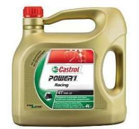 Motocyklový olej Castrol POWER1 RACING 4T 10W50 4L - Castrol