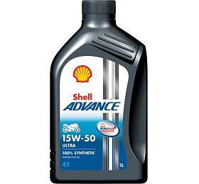 Shell Advance Ultra 4T 15W-50 1L - Shell