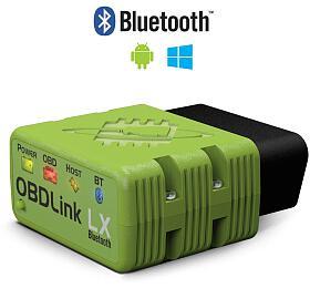 Diagnostika OBDLink LX Bluetooth + CZ program TouchScan - 3 roky záruka SIXTOL - Sixtol