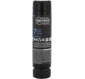 Barva na vlasy L´Oréal Professionnel Homme, 3x50 ml, odstín 7 Medium Blond - L´Oréal Professionnel