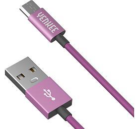 USB kabel Yenkee YCU 222 PPE kabel USB / micro 2m - Yenkee