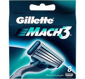 Náhradní břit Gillette Mach3, 8 ks - Gillette