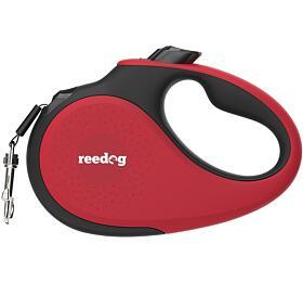 Reedog Senza Premium samonavíjecí vodítko XS 12kg / 3m páska / červené - Reedog