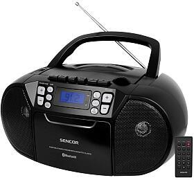 Rádiopřijímač s CD/USB/BT/KAZE Sencor SPT 3907 B - Sencor
