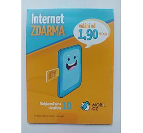 SIM karta MOBIL.CZ internet zdarma na 30 dní - MOBIL.CZ