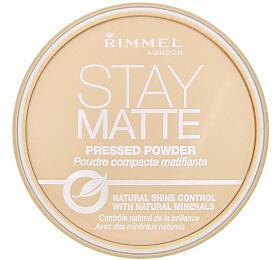 Pudr Rimmel London Stay Matte, odstín 1 Transparent 14 g - Rimmel London