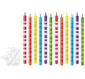 Dortové svíčky Tescoma DELÍCIA KIDS 10 cm, 12 ks - Tescoma