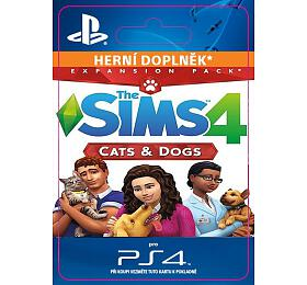 PS4 - THE SIMS 4 + CATS & DOGS - ELECTRONIC ARTS