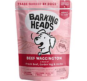 Kapsička pro psy Barking Heads Beef Waggington 300g - Barking Heads