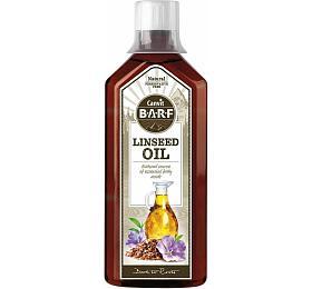 Lněný olej pro psy a kočky Canvit BARF Linseed Oil 500ml - Canvit