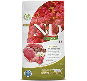 N&D Quinoa CAT Urinary Duck & Cranberry 1,5kg - N&D