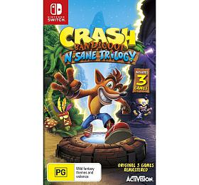 Crash Bandicoot N.Sane Tril. hra SWITCH Nintendo - Nintendo