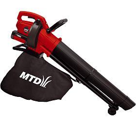 MTD BLBV40, aku 40 V vysavač/foukač (bez baterie a nabíječky) - MTD