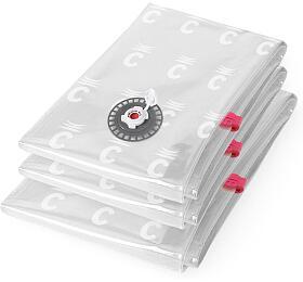 Set 3 ks vakuových pytlů Compactor Bag Aspispace - pro uskladnění textilu a peřin - Compactor