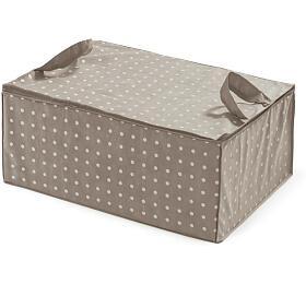 Textilní úložný box na peřinu Compactor