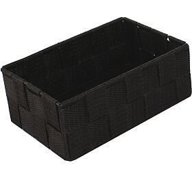 Úložný organizér do zásuvky Compactor TEX - košík M, 18 x 12 x 7 cm, čokoládový - Compactor