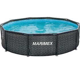 Bazén Marimex Florida 3,05x0,91 m RATAN bez příslušenství (10340235) - Marimex