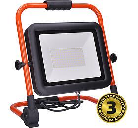 Solight LED reflektor PRO se sklopný stojanem, 100W, 8500lm, 5000K, kabel se zástrčkou, IP65 - Solight