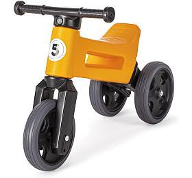 Odrážedlo Teddies Funny Wheels Sport 2v1 oranžové - Funny Wheels