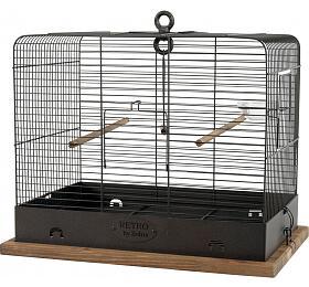 Klec ptáci RETRO CELESTINE kov/dřevo 34x27x44cm Zolux - ZOLUX