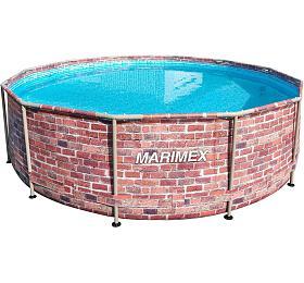 Bazén Marimex Florida CIHLA, dekor cihlový, limitovaná edice 3,66x0,99 m (10340243) - Marimex