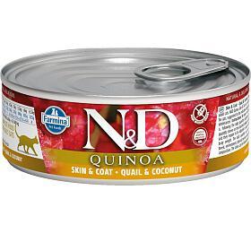 N&D CAT QUINOA Adult Quail & Coconut 80g - N&D