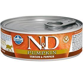 N&D CAT PUMPKIN Adult Venison & Pumpkin 80g - N&D
