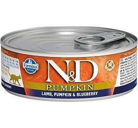 N&D CAT PUMPKIN Adult Lamb & Blueberry 80g - N&D