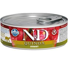 N&D CAT QUINOA Adult Urinary Duck & Cranberry 80g - N&D