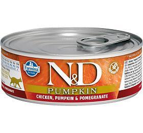 N&D CAT PUMPKIN Adult Chicken & Pomegranate 80g - N&D