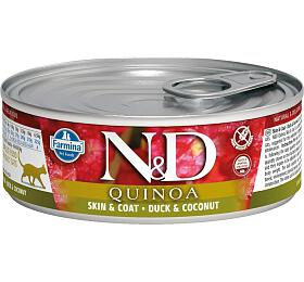 N&D CAT QUINOA Adult Duck & Coconut 80g - N&D